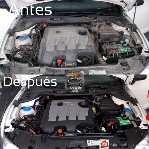 limpieza d motor a vapor y restauración de opticas domicilio