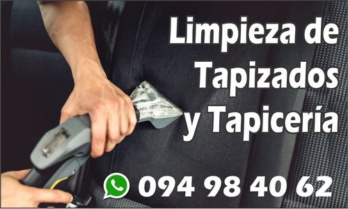 limpieza de alfombra , autos, whatsapp 094984062 agenda ya