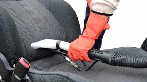 limpieza de asientos automotrices