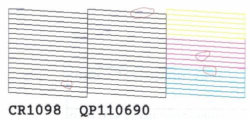 limpieza de cabezal epson tx105 tx115 tx125 tx135