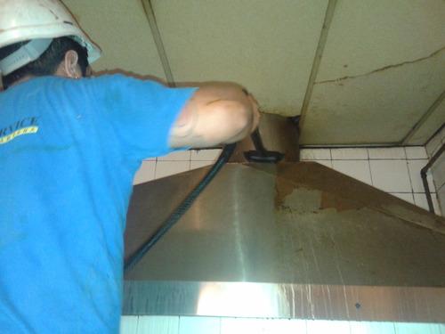 limpieza de campanas, cocinas y hornos