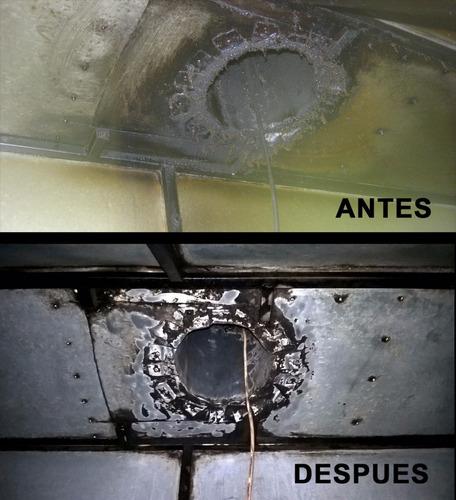 limpieza de campanas y conductos. reparacion de motores ext
