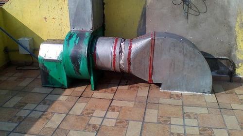limpieza de campanas y ductos de extracción