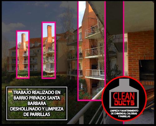limpieza de chimeneas, parrillas y campanas  - deshollinador