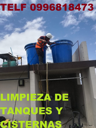 limpieza de cisternas de agua potable telf 0992448828