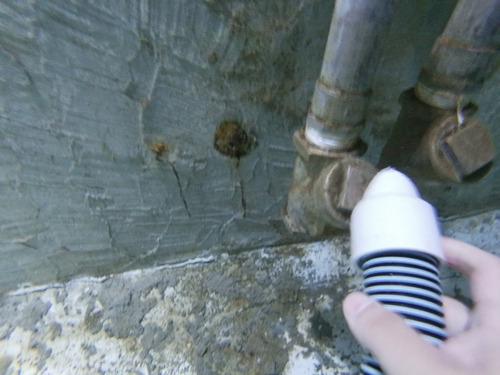 limpieza de cisternas por buceo y método tradicional
