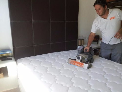 limpieza de colchones al seco. tecnología anti- ácaros!
