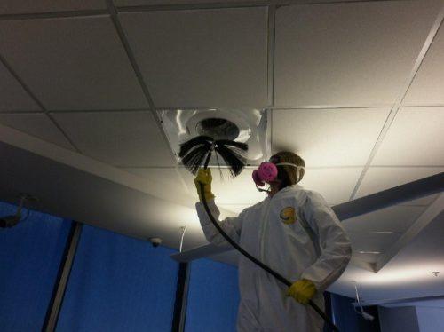 limpieza de ductos de aire acondicionado