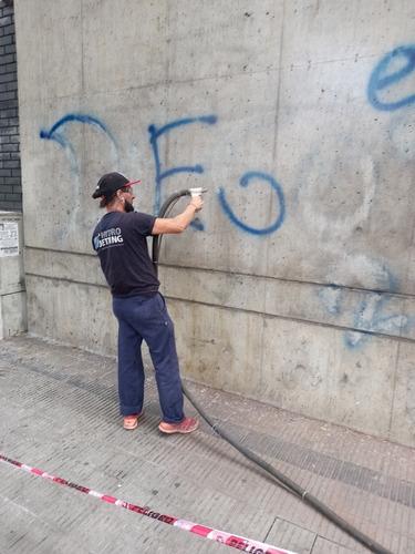 limpieza de incendios,graffitis,hidrolavados,vapor saturado