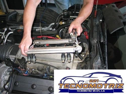 limpieza de inyector automotriz  por ultrasonido.