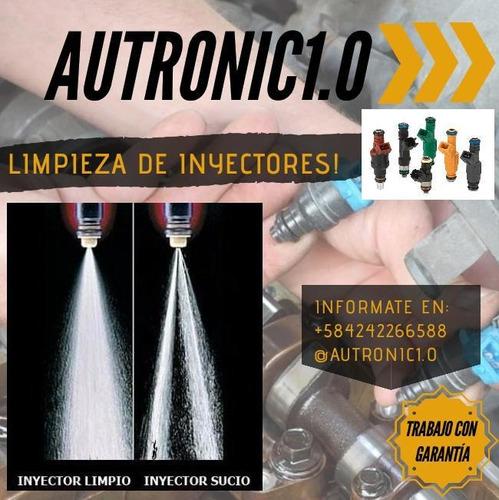 limpieza de inyectores profesional. autronic1.0