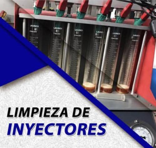 limpieza de inyectores / prueba de bombas de gasolina