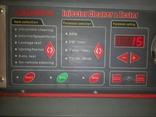 limpieza de inyectores ( taller )