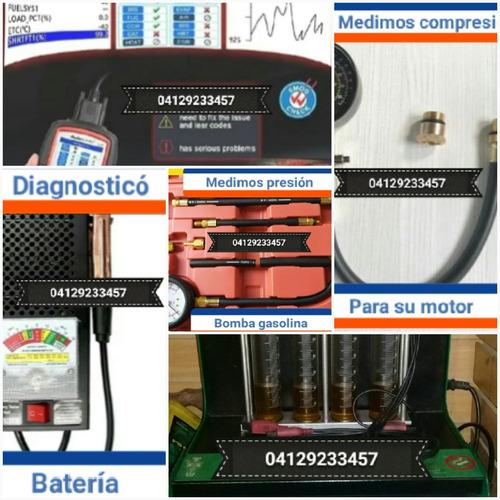limpieza de inyectores y diagnóstico computarizado