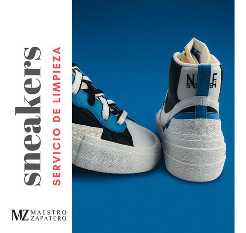 limpieza de sneakers