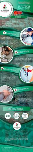 limpieza de tanques de agua instalacion reparacion, plomeros