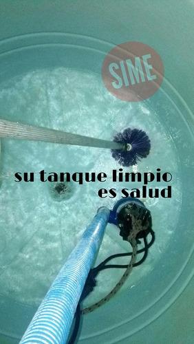 limpieza  de tanques de agua potable