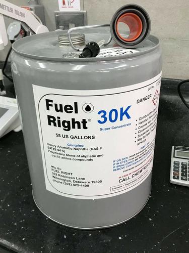 limpieza de tanques de combustible, bombas e inyección.