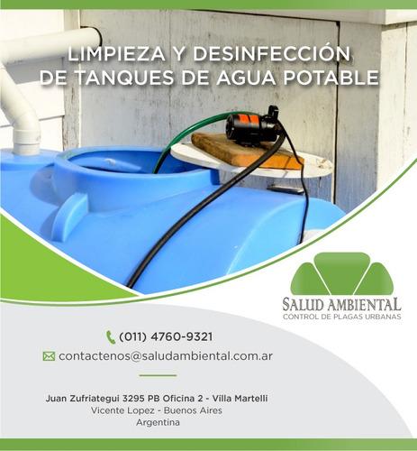 limpieza de tanques - salud ambiental control de plagas