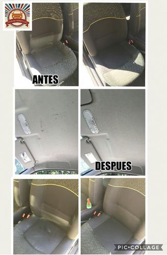 limpieza de tapizados a domicilio autos sillones colchones