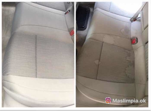 limpieza de tapizados de auto (butacas y alfombras)