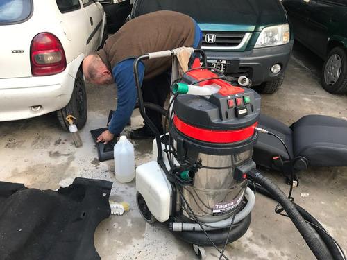 limpieza de tapizados y rescate de autos inundados