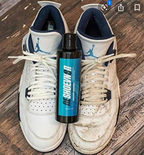 limpieza de tenis y zapatos
