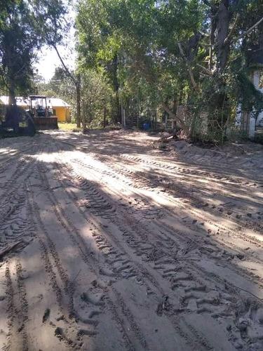 limpieza de terrenos  alquiler retroexcavadora y bobcat