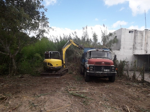 limpieza de terrenos - nivelado - rellenos - césped en rollo