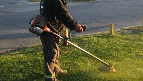 limpieza de terrenos, piletas y tanques de agua. jardinería.