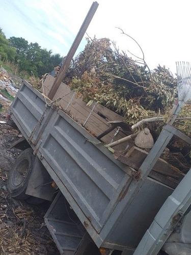 limpieza de terrenos retiro de escombro y podas