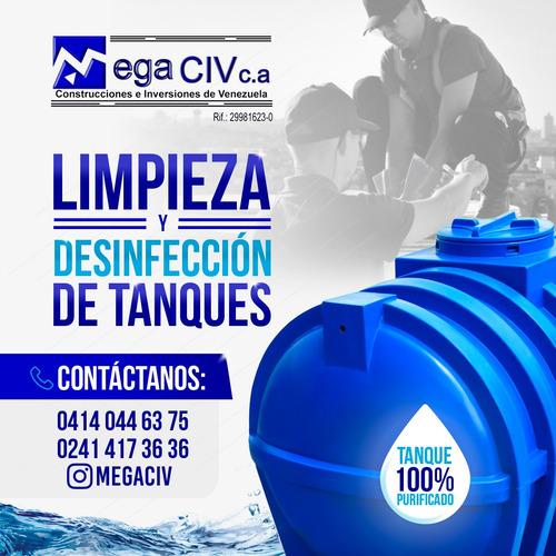 limpieza desinfección y mantenimiento de tanques de agua