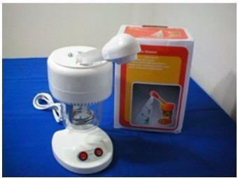 limpieza facial con vaporizador ozono portatil