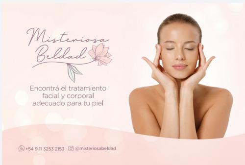 limpieza facial, tratamientos corporales. cosmetologa