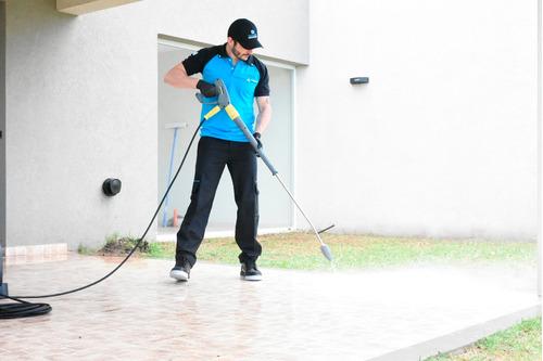 limpieza final de obra o mudanza con maquinas profesionales