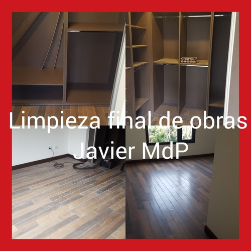 limpieza final de obras y desinfeccion mar del plata