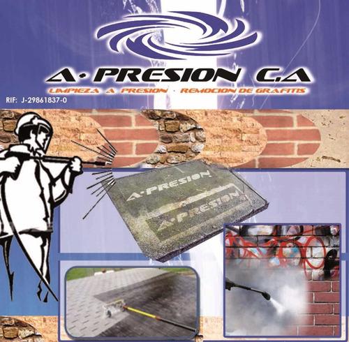 limpieza hidrojet - remoción de grafitis