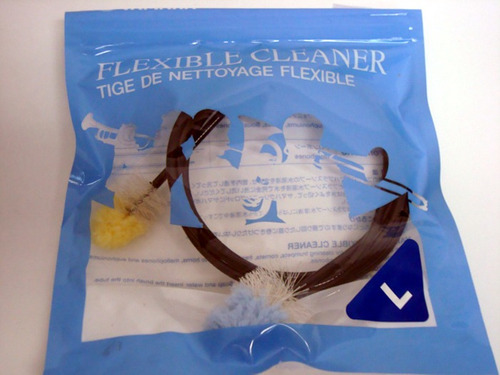 limpieza instrumentos de viento flexible cleaner l yamaha