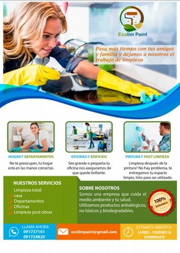 limpieza integral de casas, edificios y empresas x horas