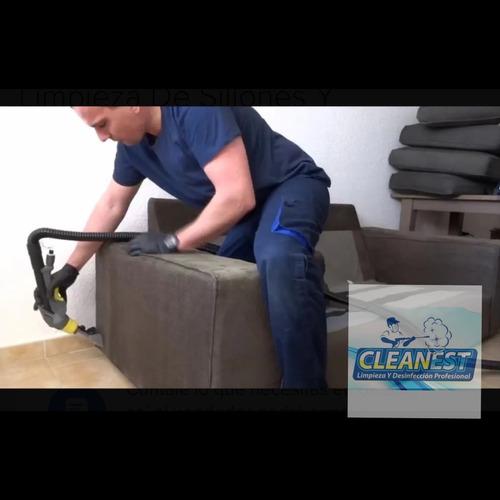 limpieza intesiva para sillones