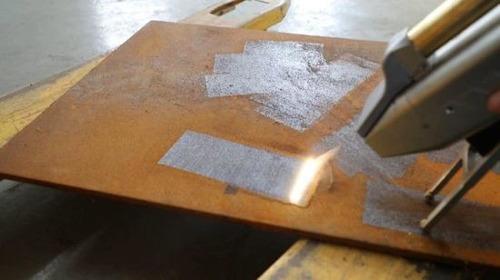 limpieza laser ablacion decapado soldaduras desoxidante