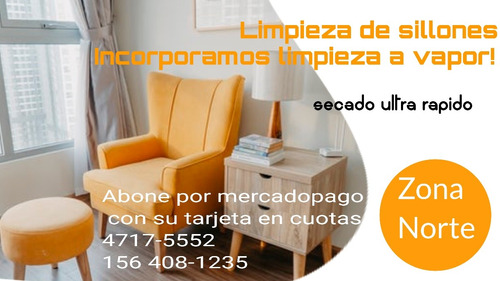 limpieza lavado alfombras- sillones- tapizados cap y z/norte