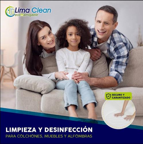 limpieza lavado desinfección de colchon muebles a domicilio