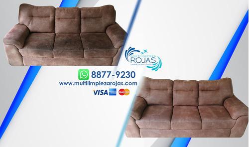 limpieza lavado sillones vehículos alfombras colchón promos