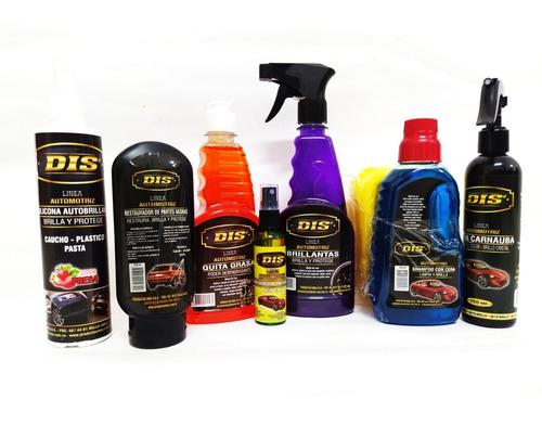 limpieza para auto
