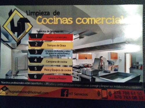 limpieza profesional de extractores y campanas de cocinas