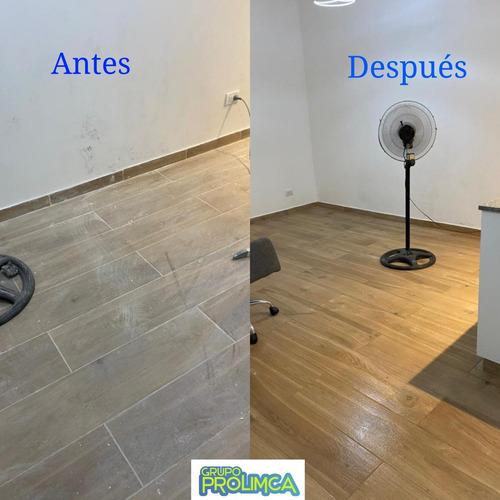 limpieza profunda / limpieza final de obra / pulido de pisos