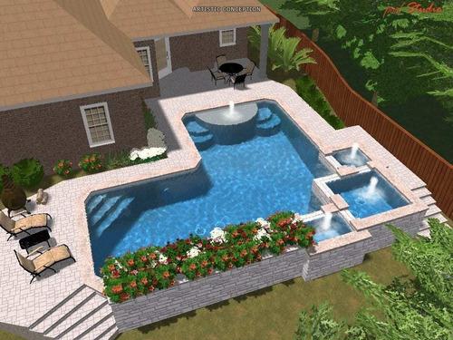 limpieza reparación construcción de piletas piscinas jardin