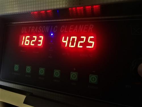 limpieza ultrasonido discos vinilo