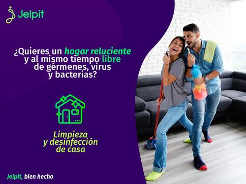 limpieza y desinfección de casa